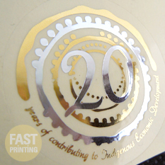 Die-Cut-Silver-Foil-Stickers